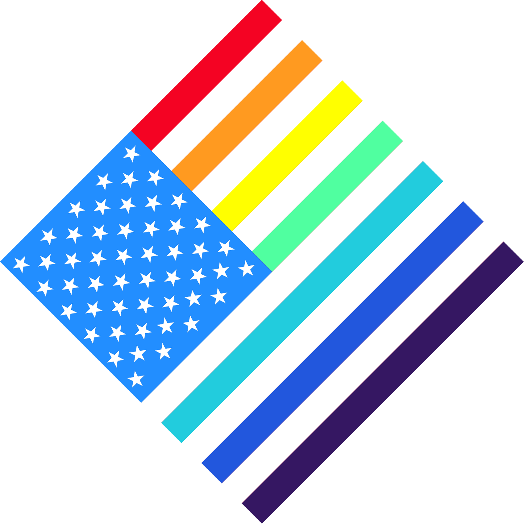 American Pride Flag Filter - For Facebook profile pictures
